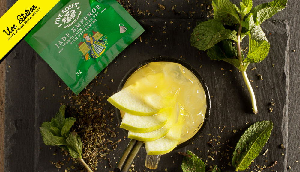 Five Roses infusion tea shoot