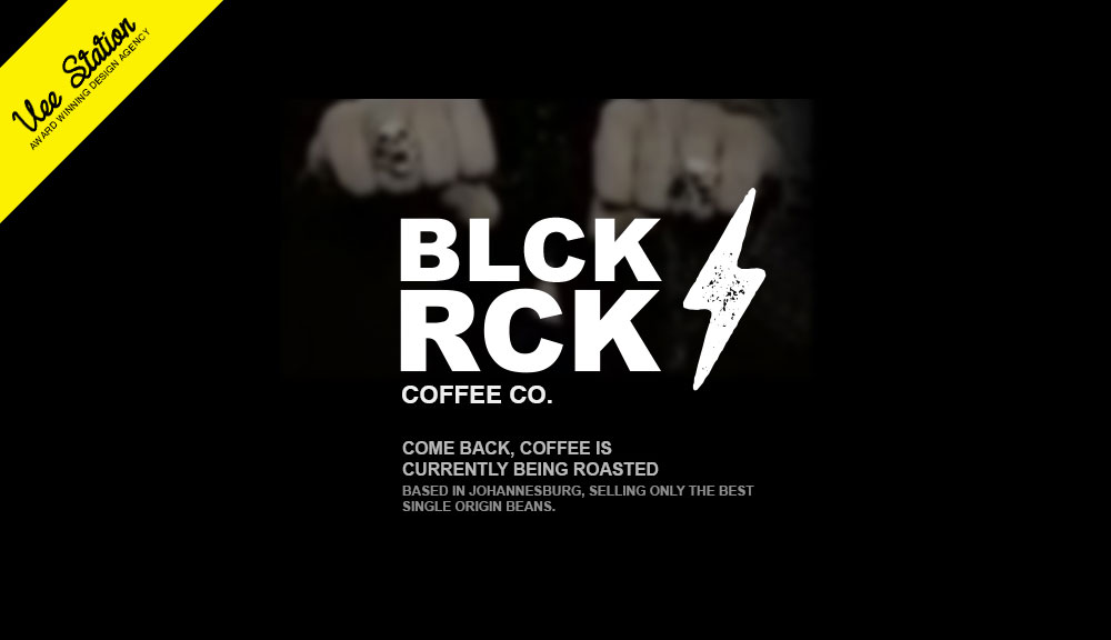 BLK RCK coffee strategy