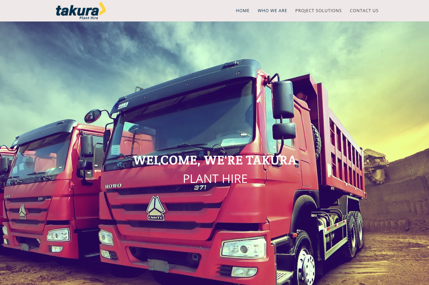 Takura website development