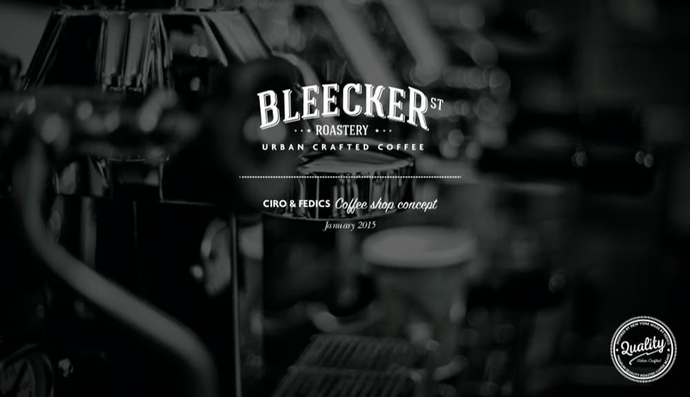 Bleecker Street brand collateral