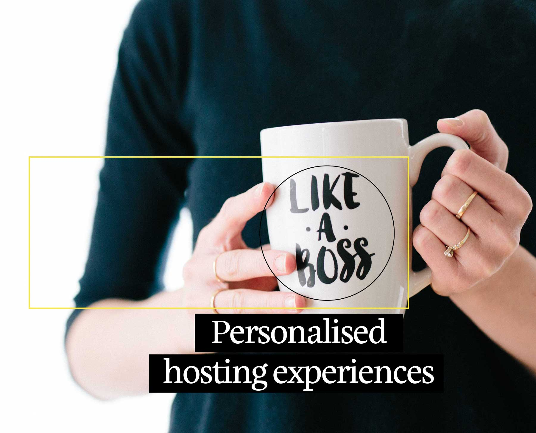 Personalised web hosting experience